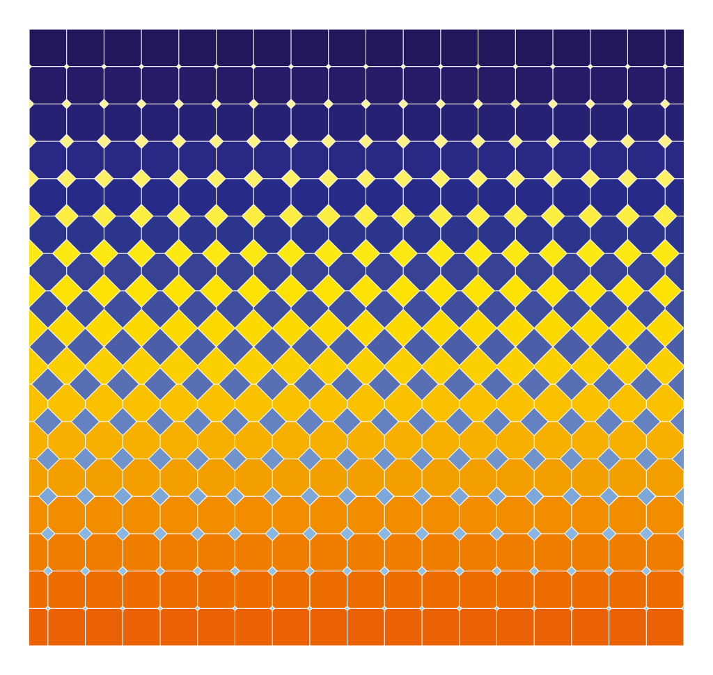 Crazy Diamonds (2015). Op Art created by Dennis Smit